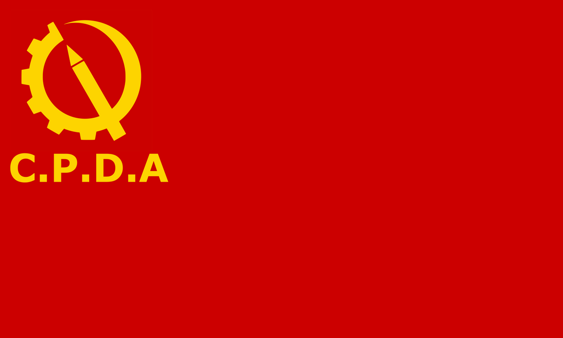 The Unofficial Flag of the C.P.D.A by achaley