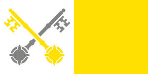 The Flag of Catholicism by achaley