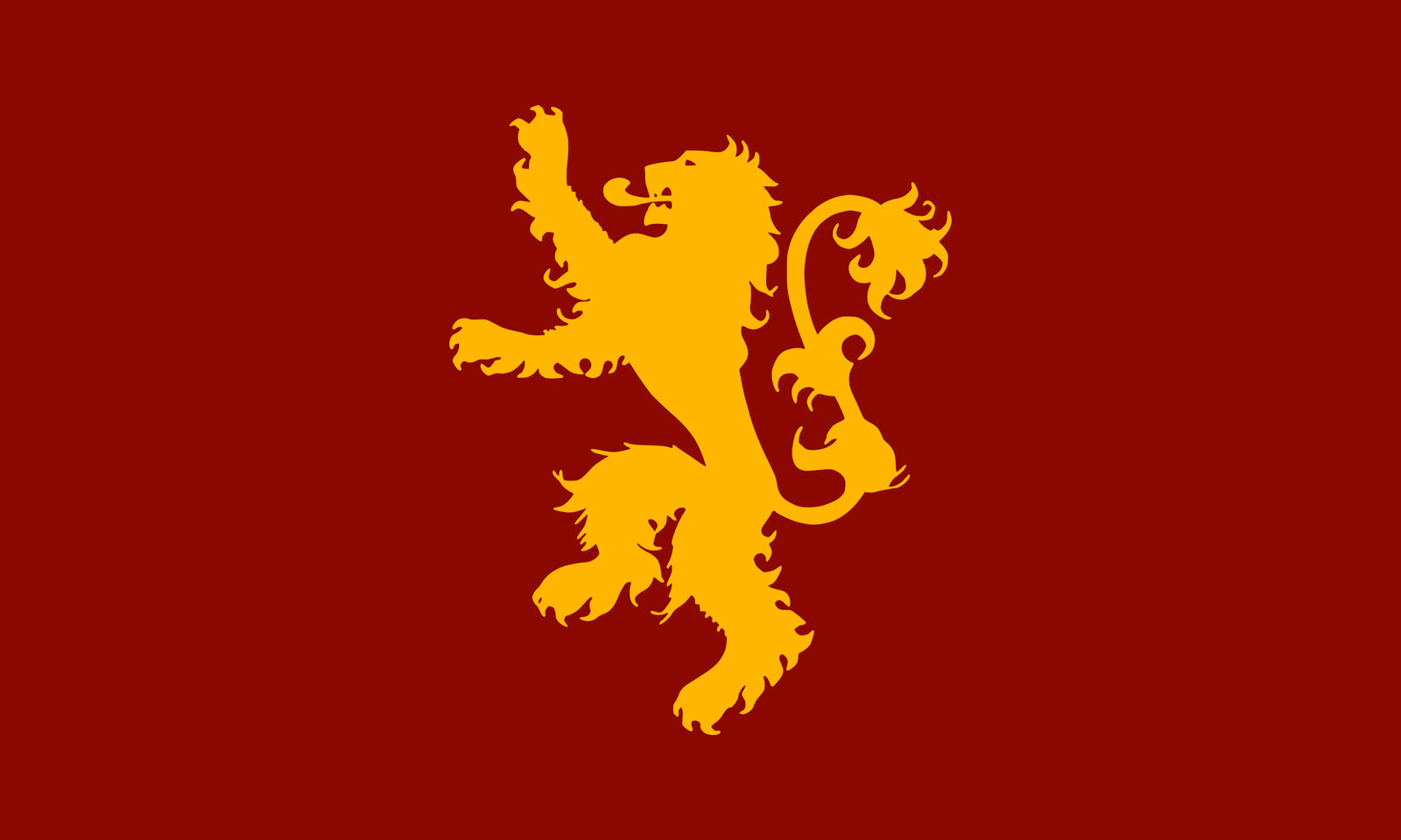 The Flag of House Lannister by achaley