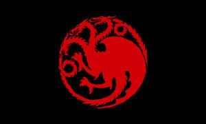 The Flag of House Targaryen by achaley
