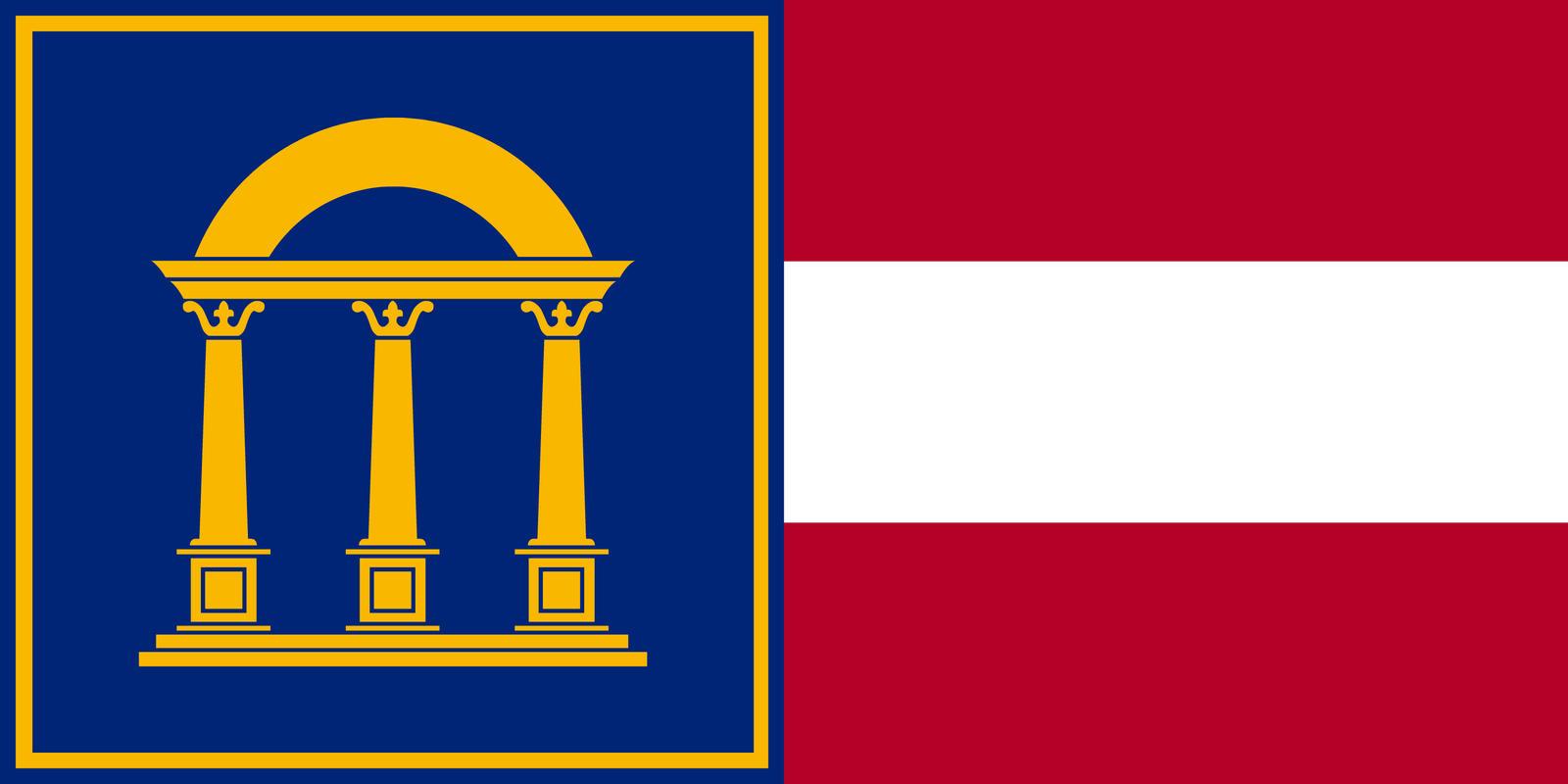 georgia flag 2017 - photo #29