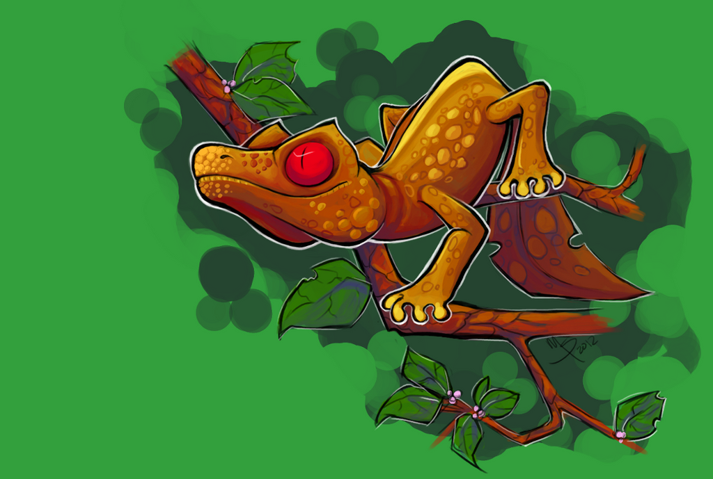 Satanic Leaf-Tailed Gecko By SPAM-cat On DeviantArt