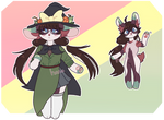 (OPEN) witch bunbun | auction | paypal by hanamura-adopts
