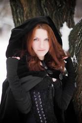 Black cloak witch. by Fairysiren