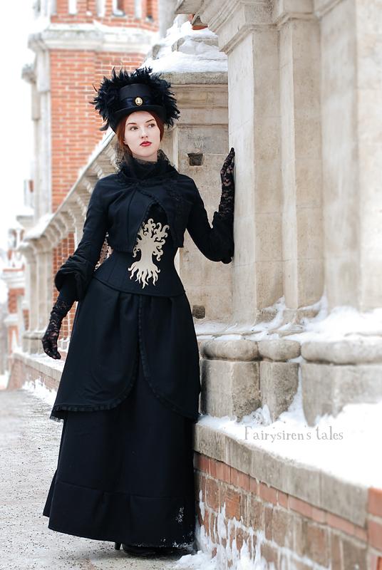 WoW Mount Hyjal inspired victorian costume. by Fairysiren