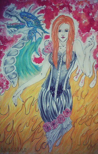 Simone Simons by szaszton