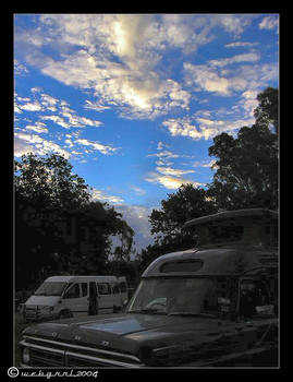 skies at barmah : vehicles