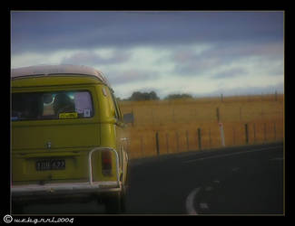 Kombi Clouds by webgrrl
