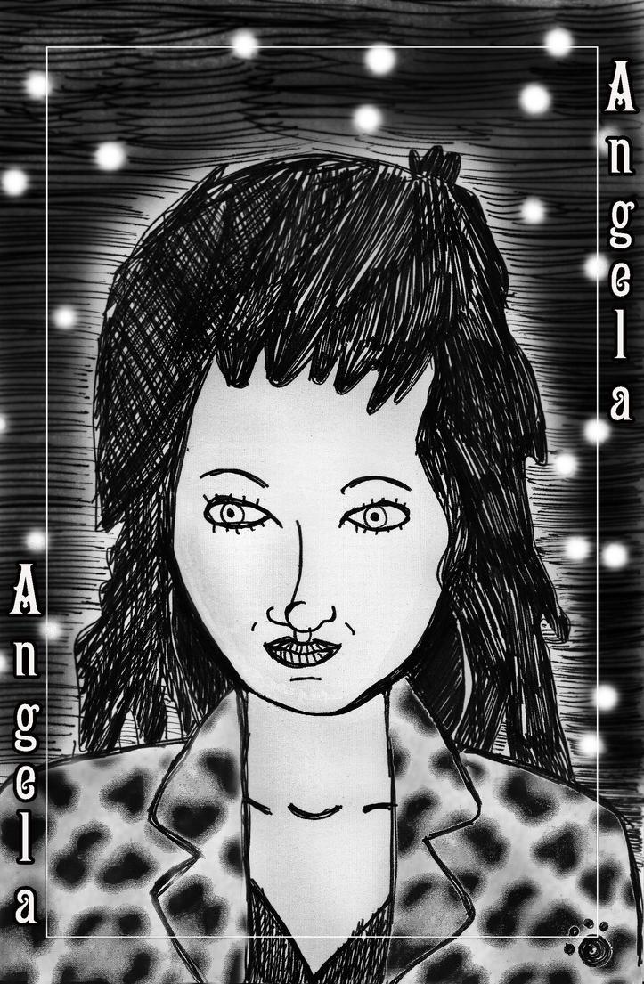 Angela at Night by PrincessIndigo