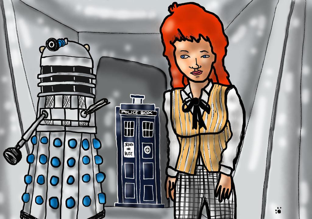 Cosplay Doodle - Dalek 101 - The 1st Doctor by PrincessIndigo