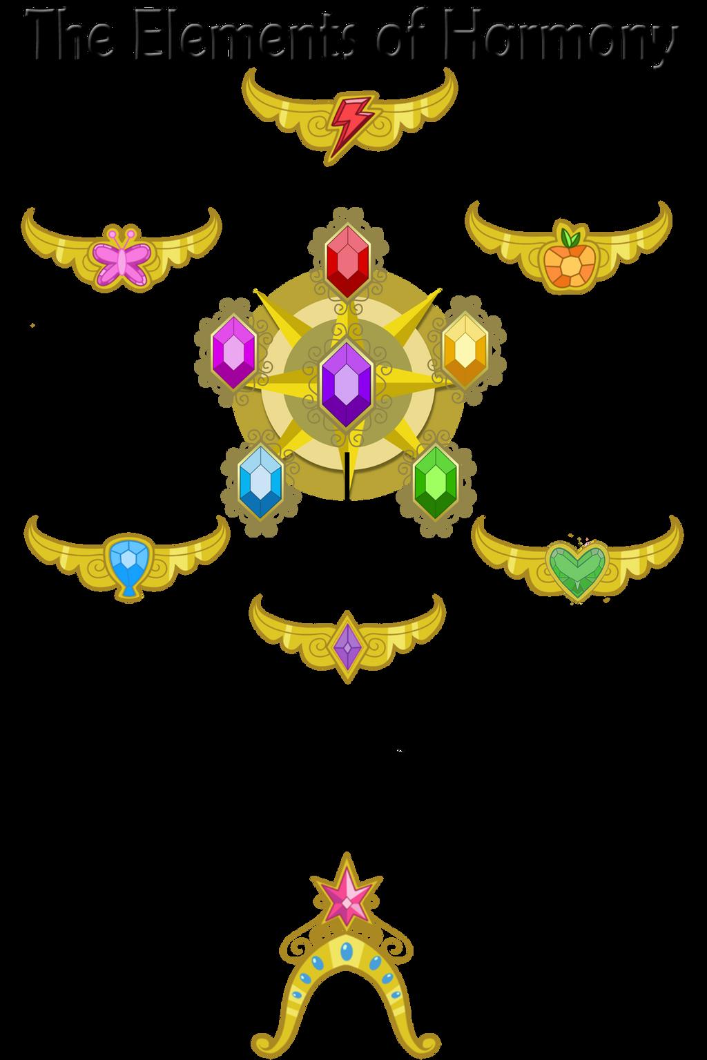 The Elements of Harmony by MysteryMelt on DeviantArt