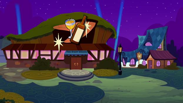 The Dizzy Weasel - Ponyville Bar