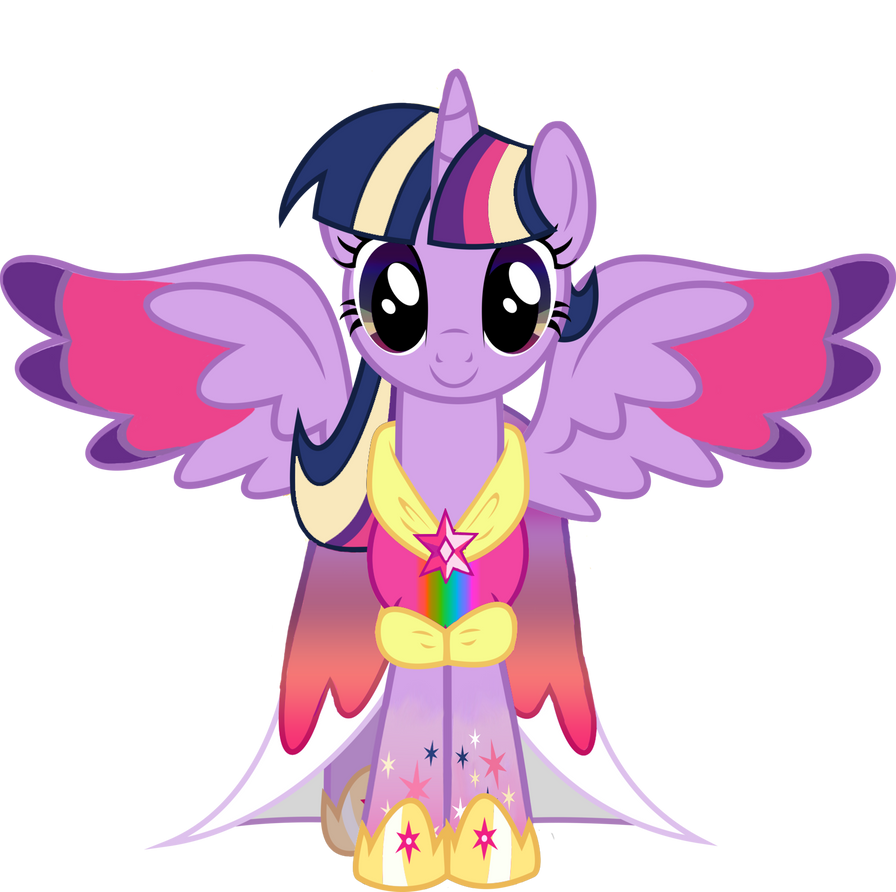 rainbow princess twilight sparkle by mysterymelt