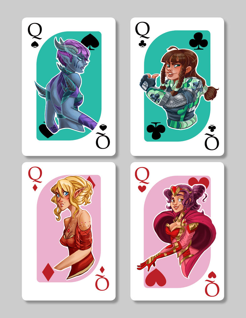 Card Queens by Spiffeigh