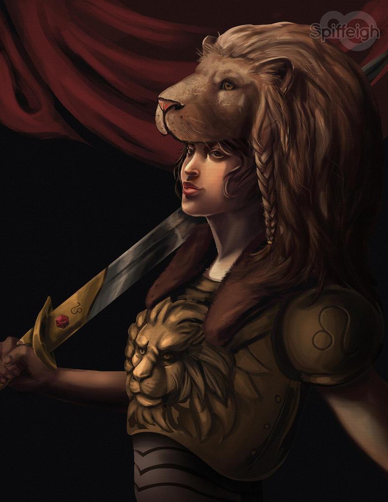 Leo - Zodiac by Spiffeigh