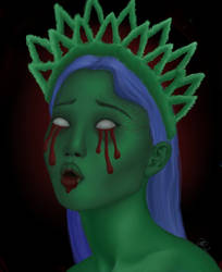 The Green That Bleeds by jasnathen