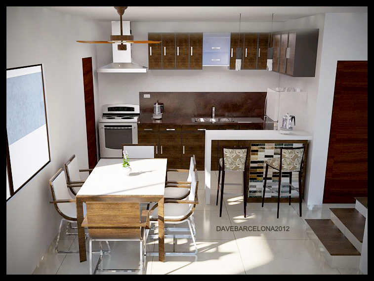 kitchen and dining area by davens07 on deviantart
