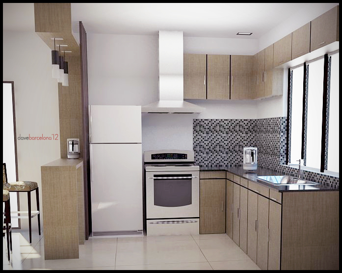 Kitchen View B by davens07