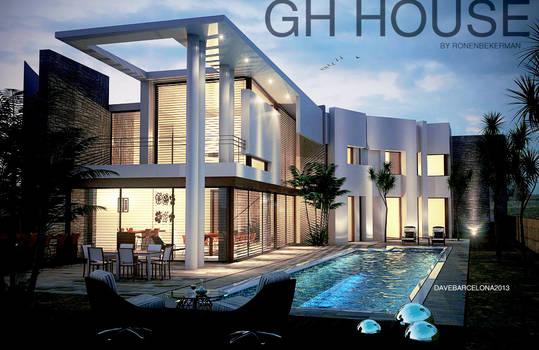 GH house by ronenbekerman