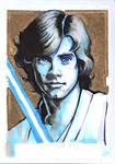 Luke Skywalker - Pencil/Ink/Multichromatic