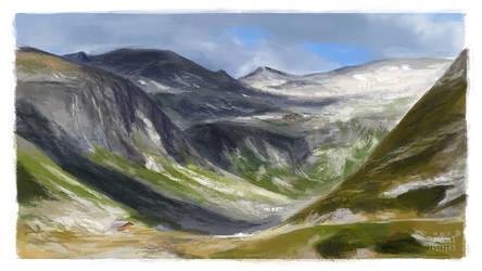 Austria - landscape study
