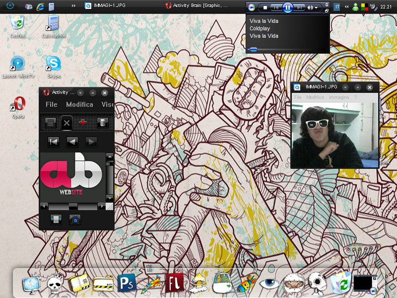 Rasta Desktop by UncleRasta
