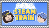 Steam Train stamp by Jayyburdd