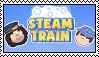 Steam Train stamp by Jayyburdd
