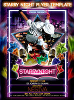 starry night flyer by ysfkrk