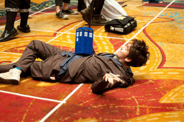 Oh, hello TARDIS. by Sock-Monkey-Renegade