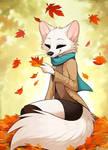 A Vixen's Autumn ...(Commissioned Art Aseethe)