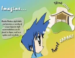 Travel Japan - Brochure Design by SuushiBoy