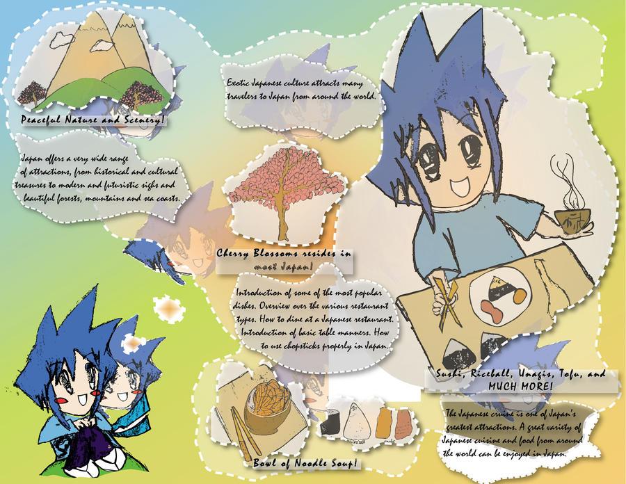 Travel Japan - Brochure Inside by SuushiBoy