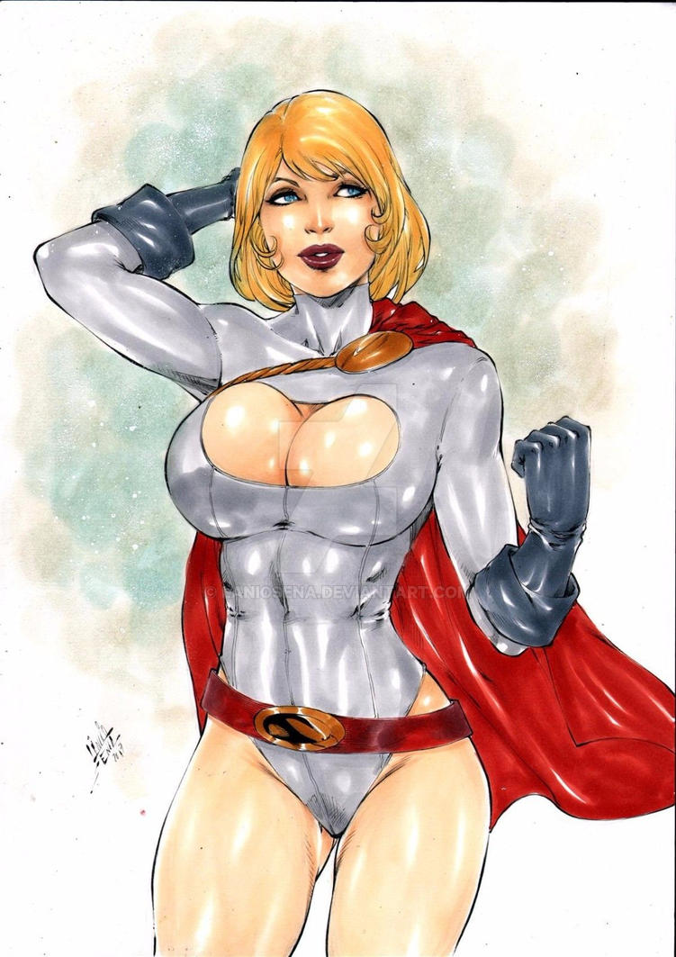 power girl by laniosena