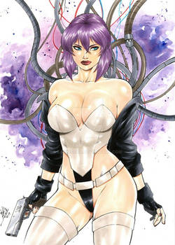 motoko- ghost in the shell