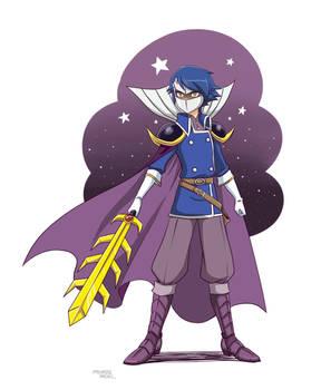 The greatest swordman, Meta Knight