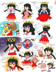 Ripple Star Queen Special doodle by Primrose-Rachel