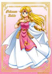 Princess Zelda A Link Between Worlds
