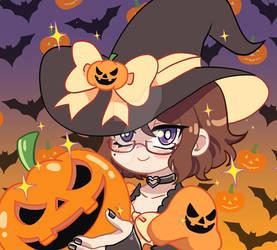 Halloween Primrose Icon