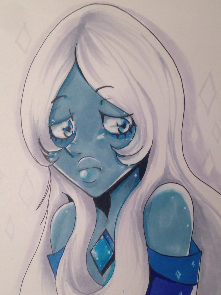 Sorry I haven't drawn anything for a while... i just moved so I've been busy. Anyway, enjoy my Blue Diamond fanart! Disclaimer- I do not own Steven Universe