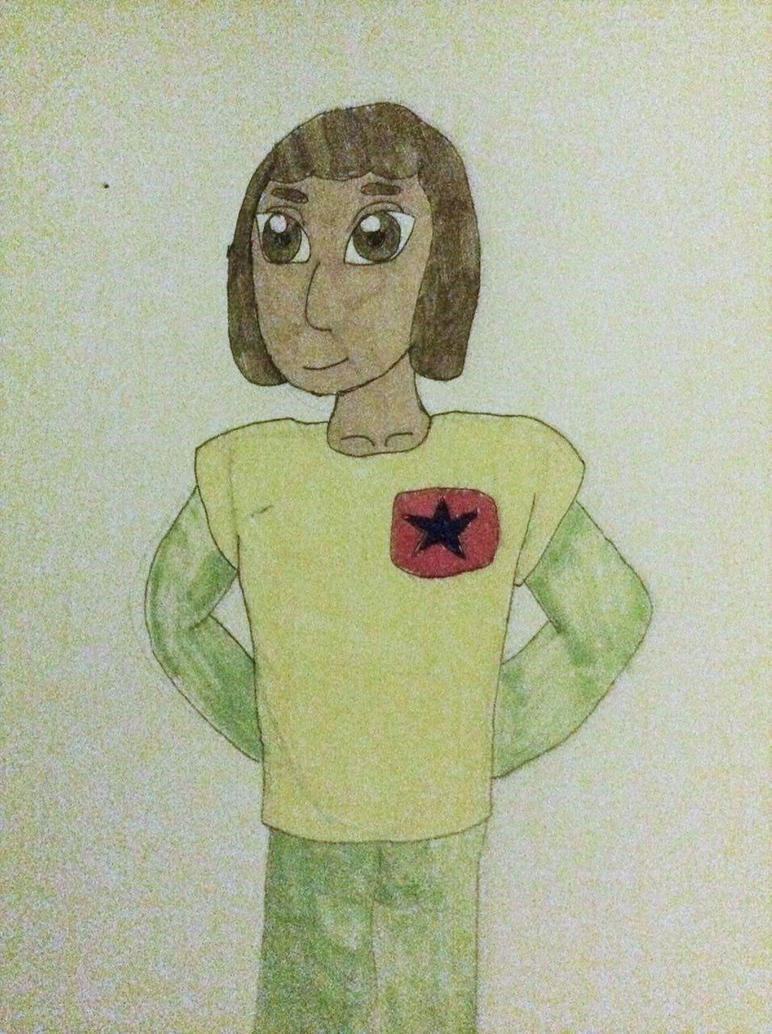 Seymour dressed as Adric by agosiciliano