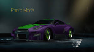 Evangelion Unit 01 Nissan GT-R