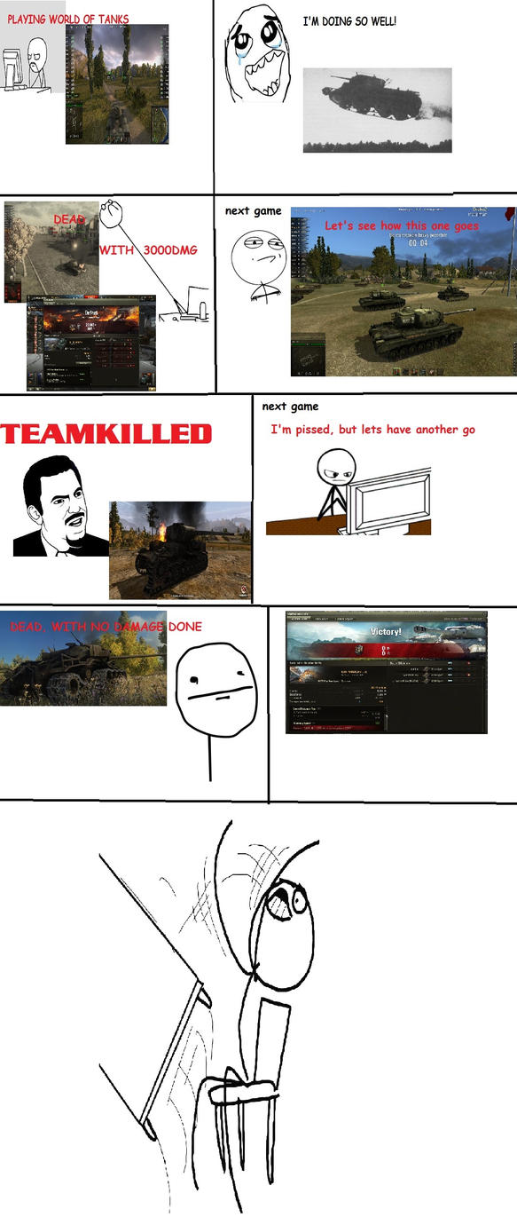 The Story of My Life in World of Tanks by Weldit