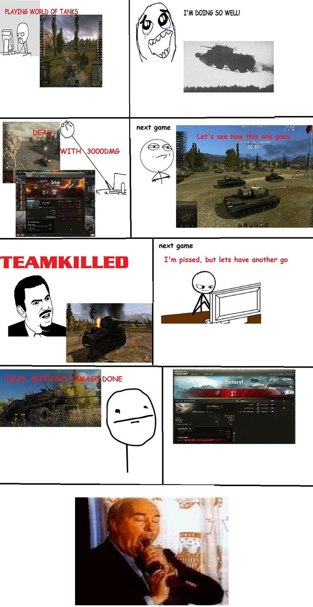 The Story of My Life in World of Tanks (Alternate) by Weldit