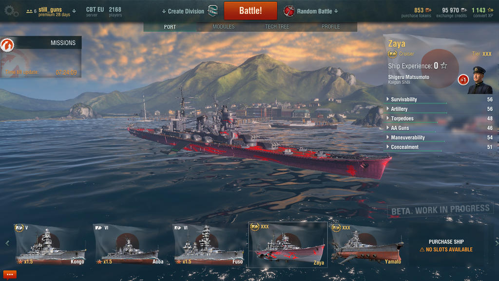 Cruiser Zaya - World of Warships gimmick by Weldit
