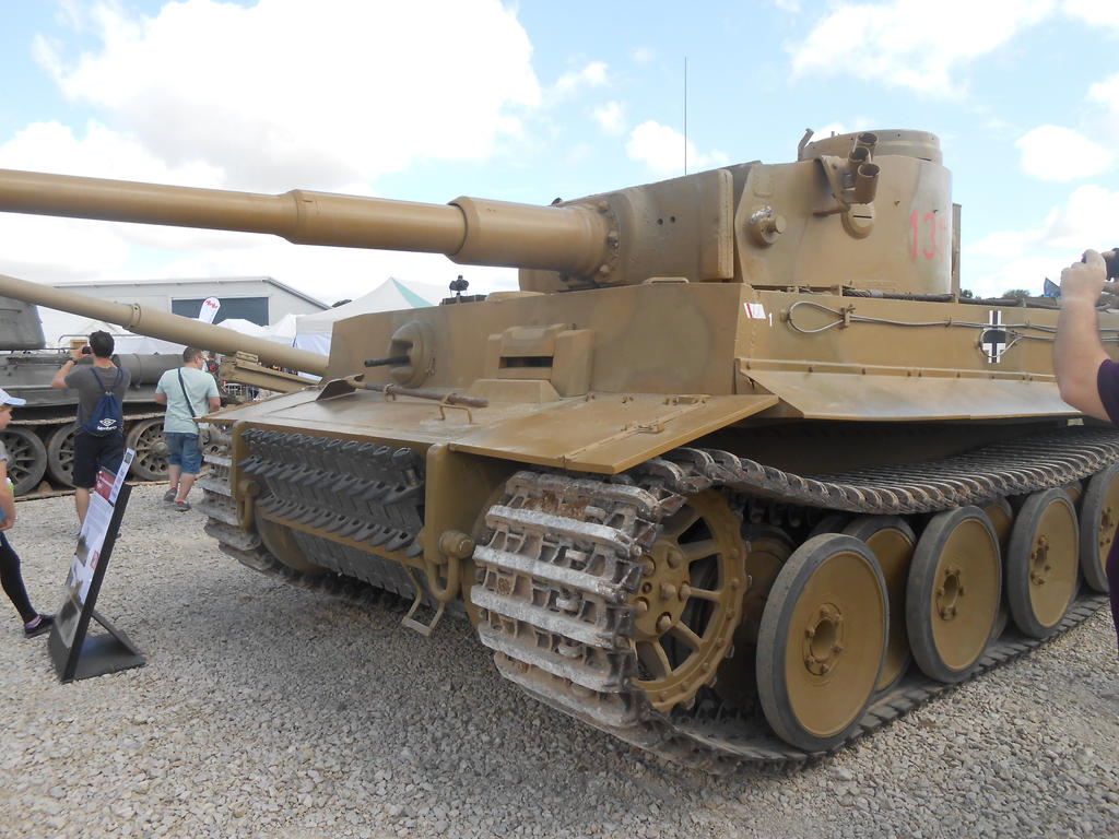 Tiger 131 at Tankfest by Weldit