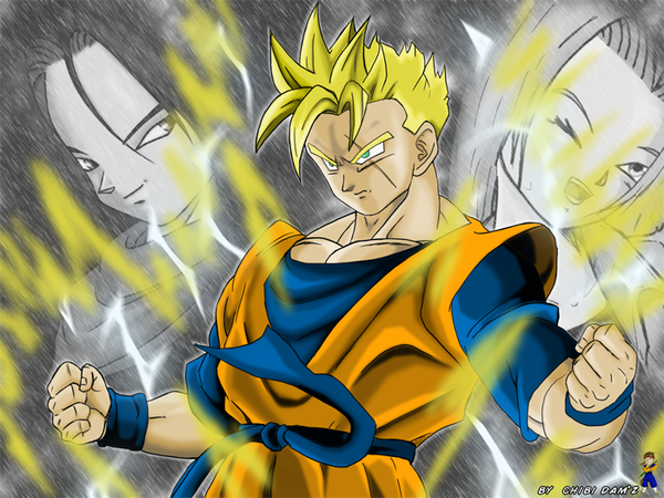 Gohan c17 c18 by chibidamz on deviantart - Dragon ball z c18 ...
