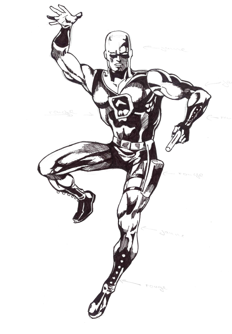 daredevil blackwhite by chibidamz on deviantart