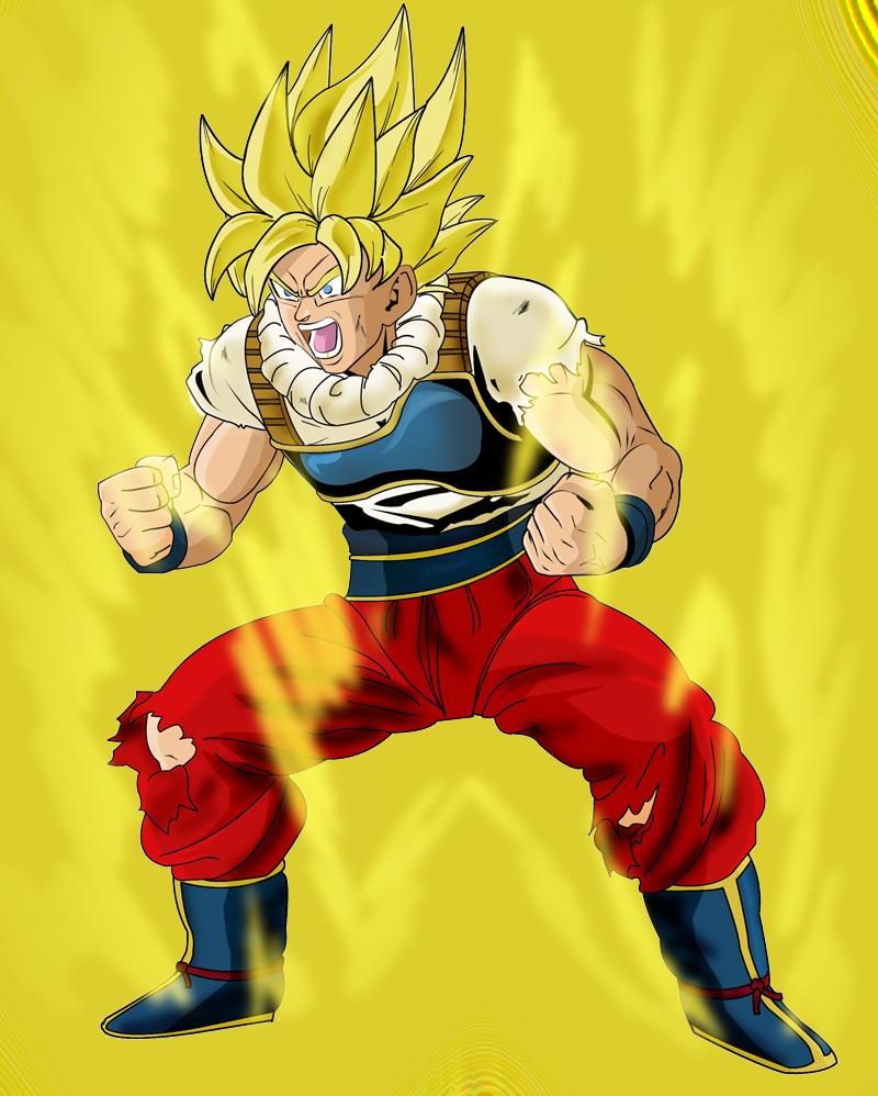 goku angry ssj yardratsLIe by ChibiDamZ on DeviantArt