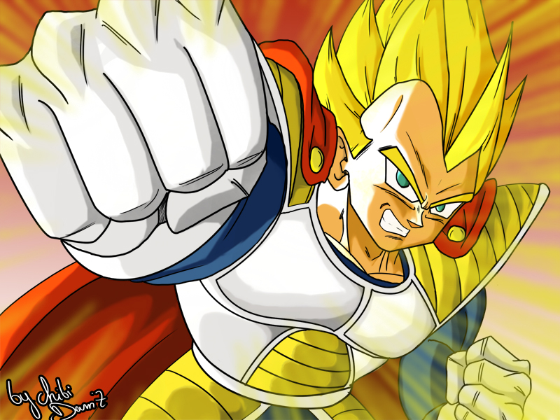Prince Vegeta Fan Art